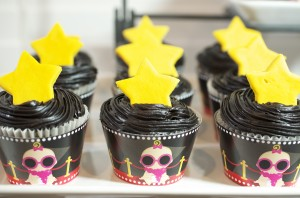 Star Is Born Custom Cupcacke wrappers