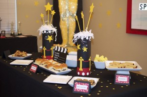Baby Shower Food Ideas for a star is born baby shower