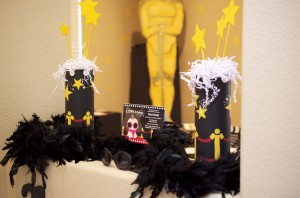 A Star is born hollywood baby shower decorations