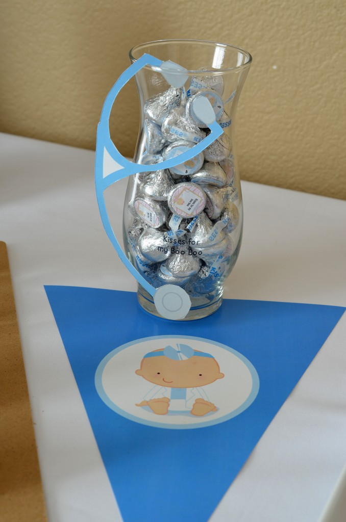 nurse hershey kiss favors