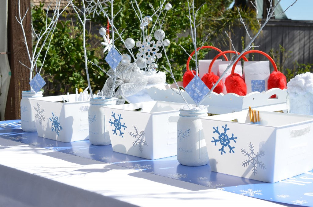 Snowflake Party - Full Table