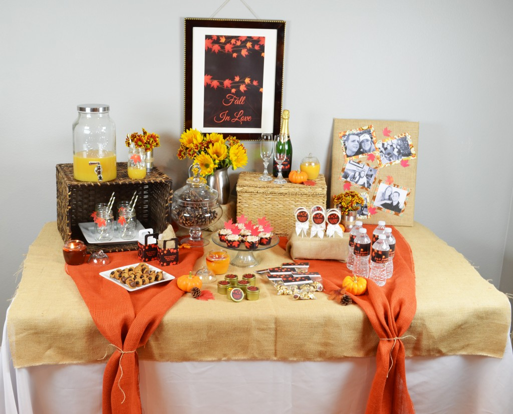 Fall In Love Favor Table