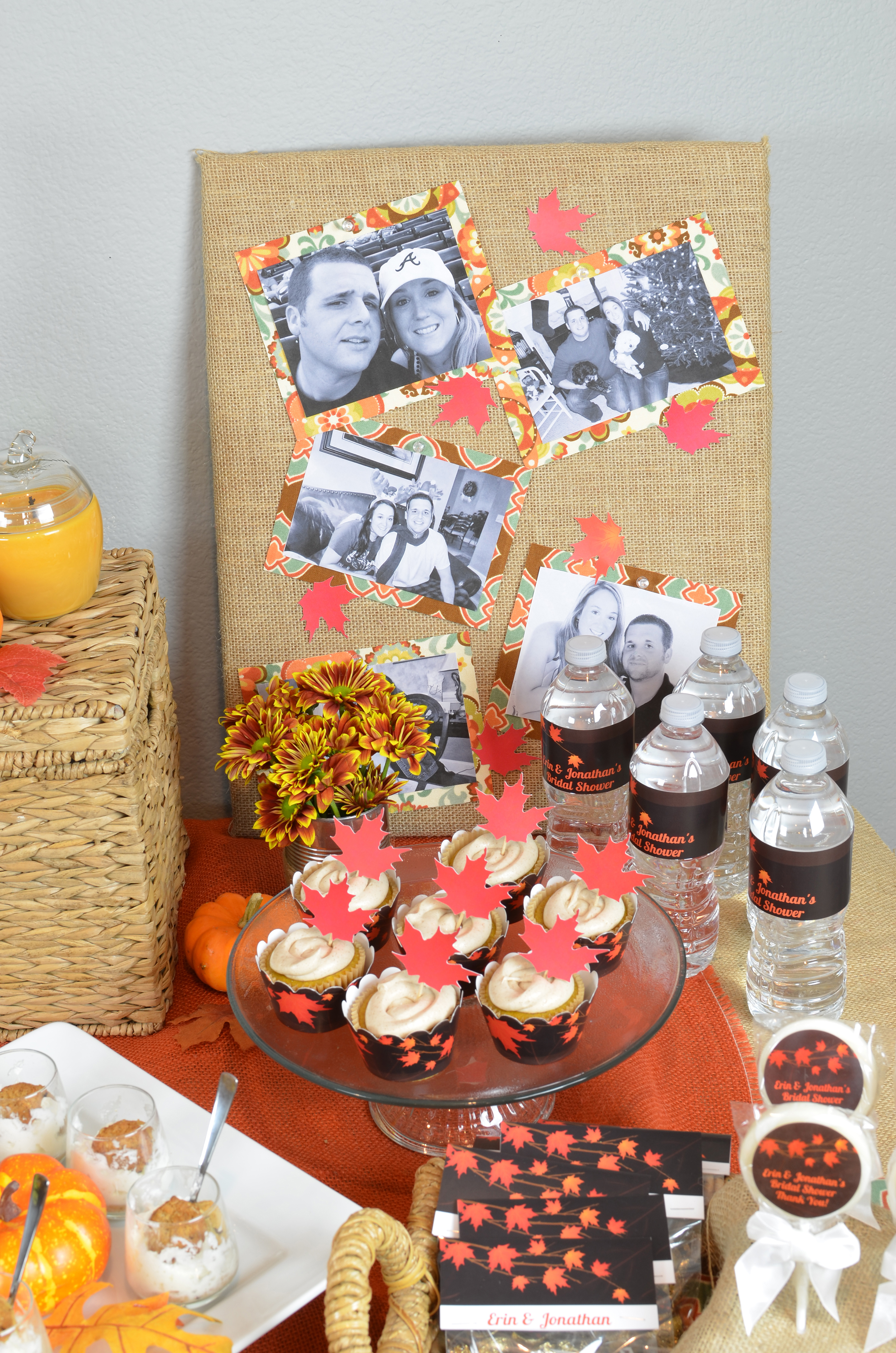 Fall In Love - Bridal Shower Theme - Candles and Favors Fall Bridal Shower Themes