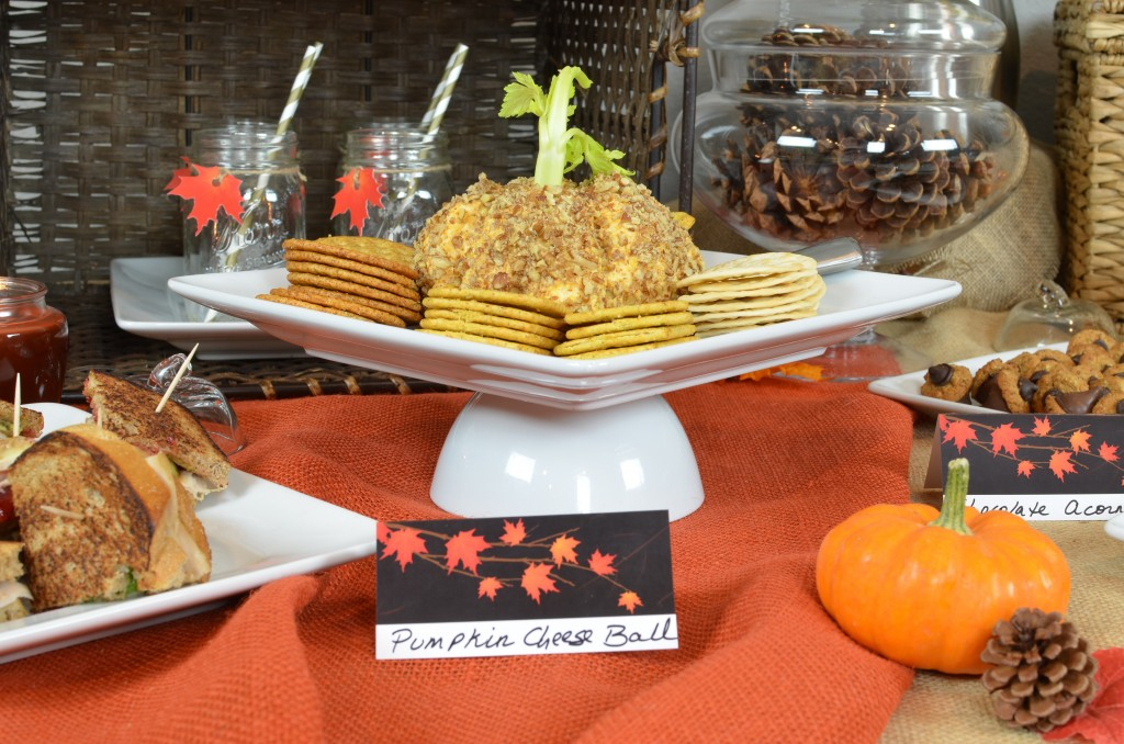 Fall in Love - Pumpkin Cheese Ball