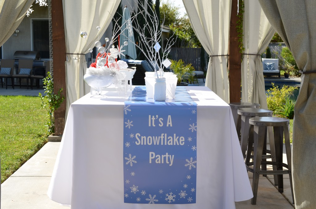 Snowflake Party - Banner