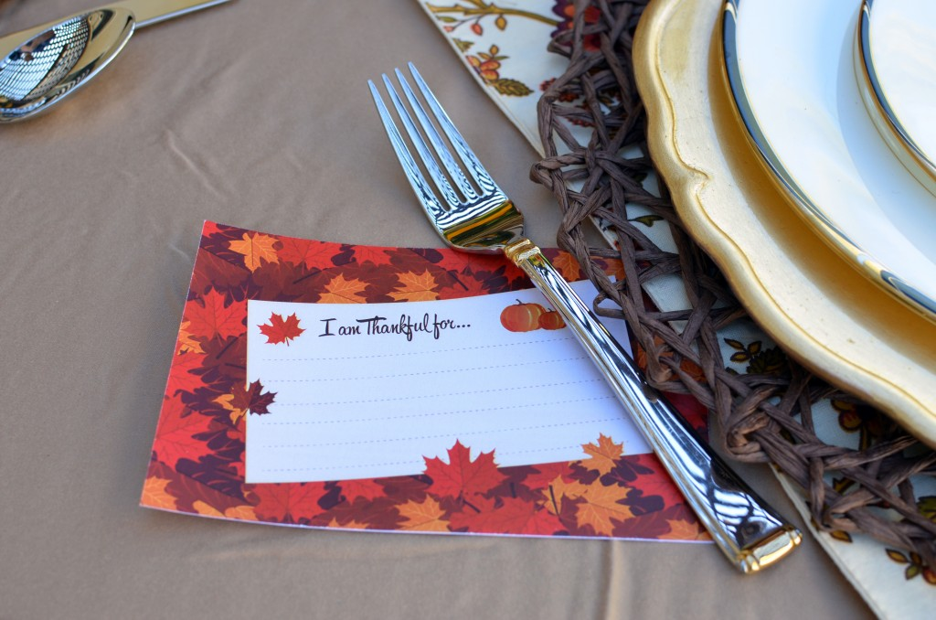 Give Thanks - Note Card