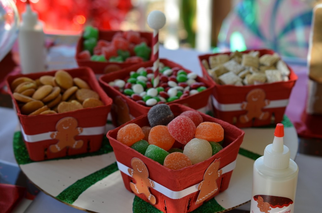 gingerbread party - candy options