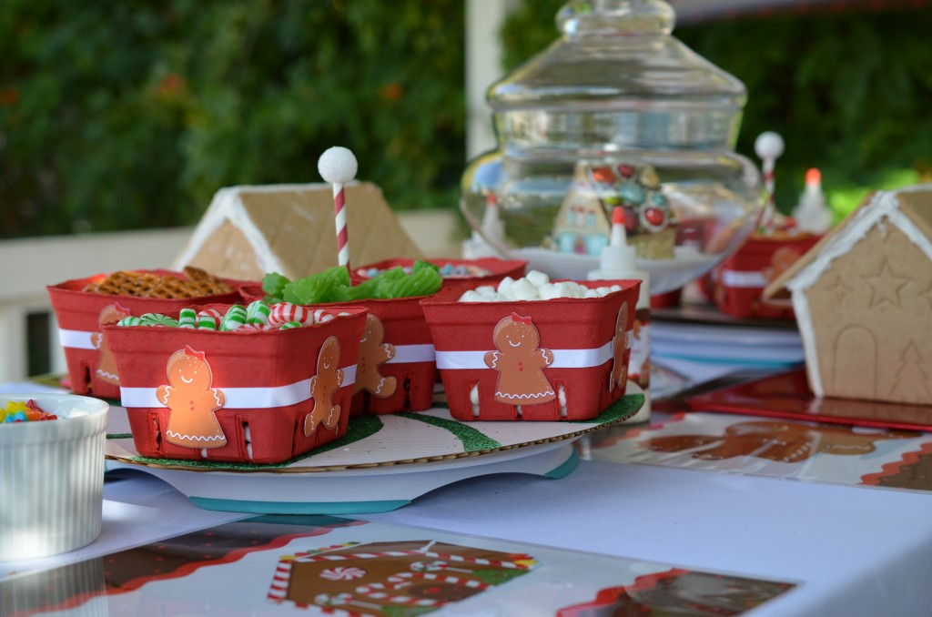 gingerbread party - cut outs on candy boxes