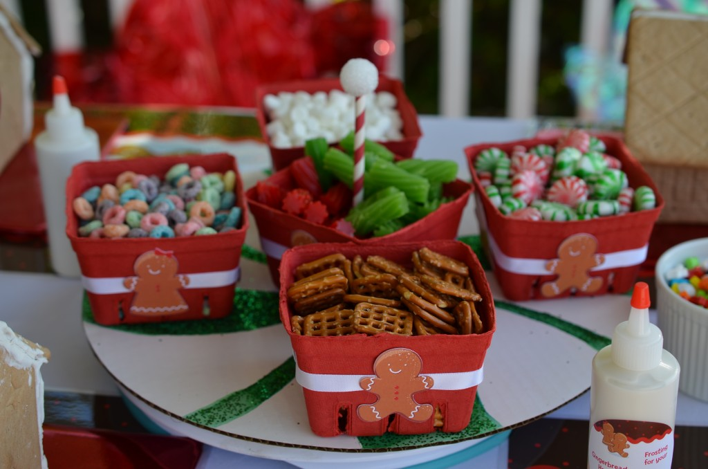 gingerbread party - more candy options