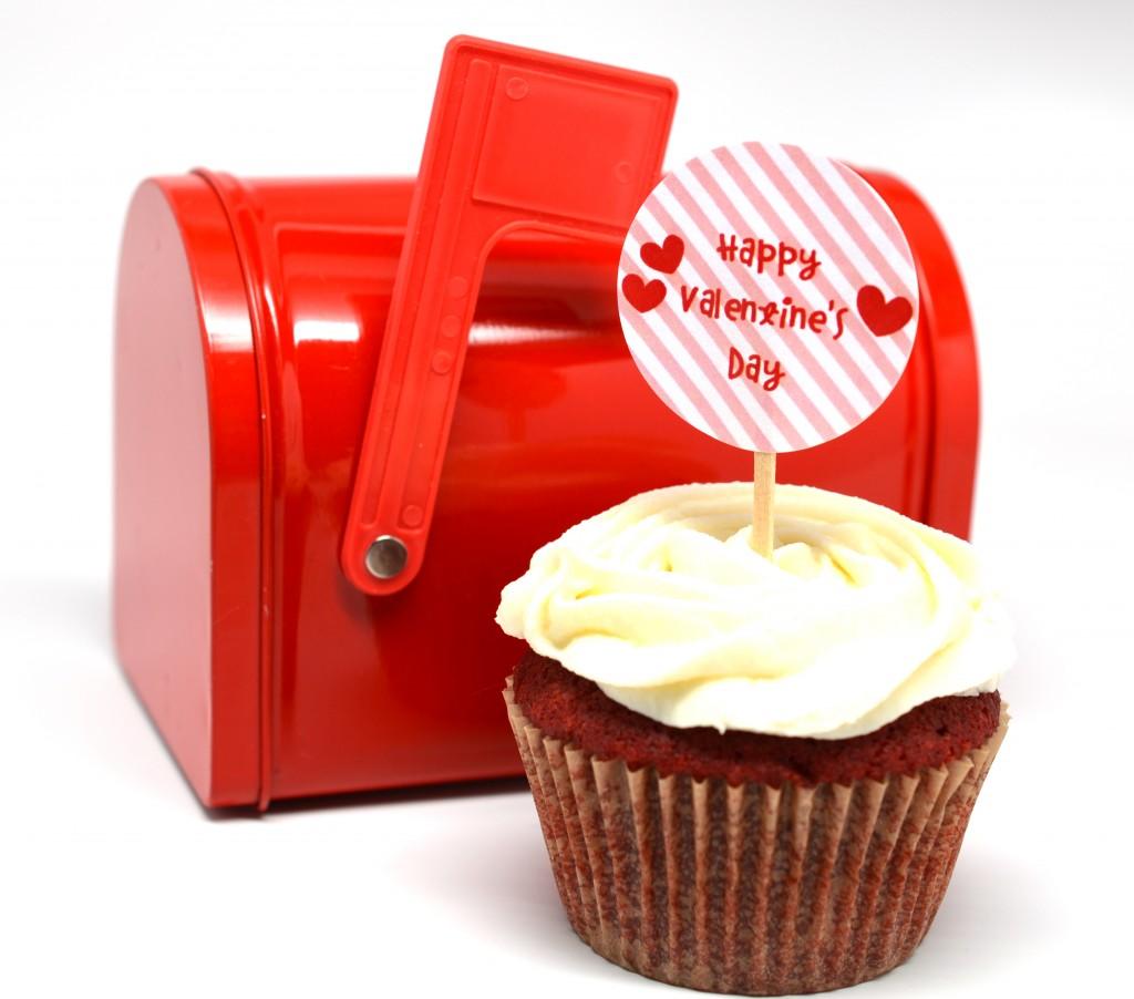 valentine downlaod cupcake topper