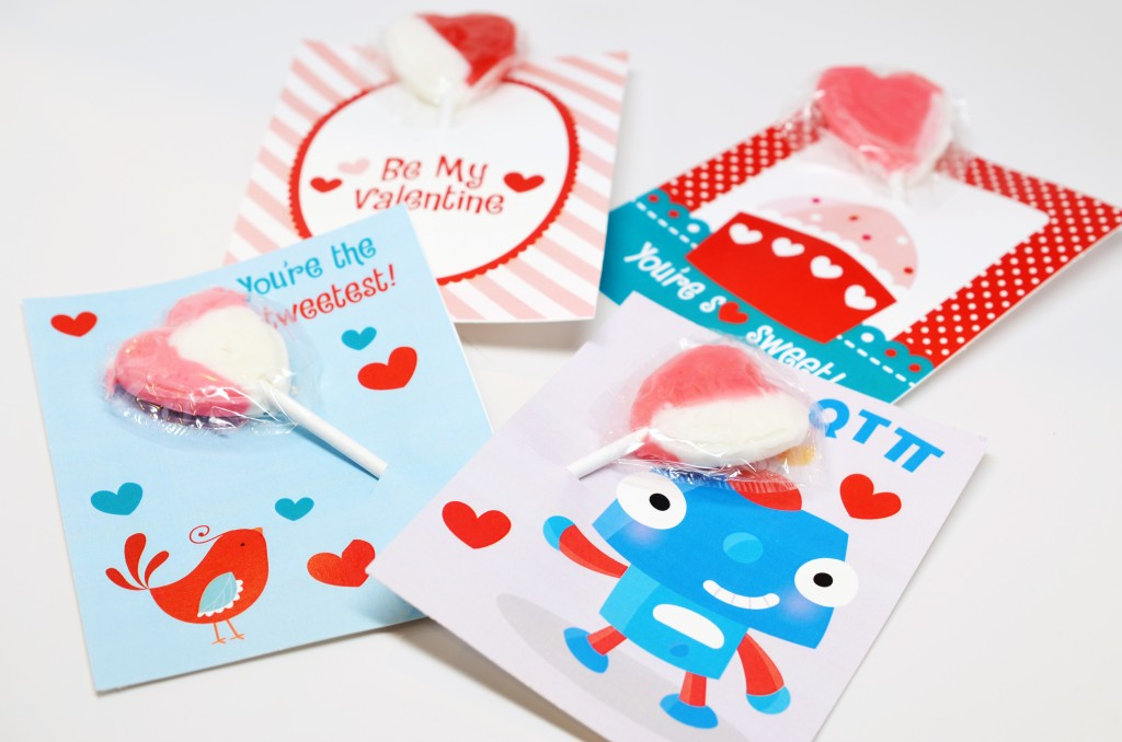 valentine free download lollipop holder