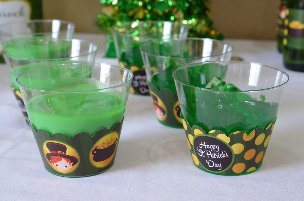 st patricks day printable jello and pudding food