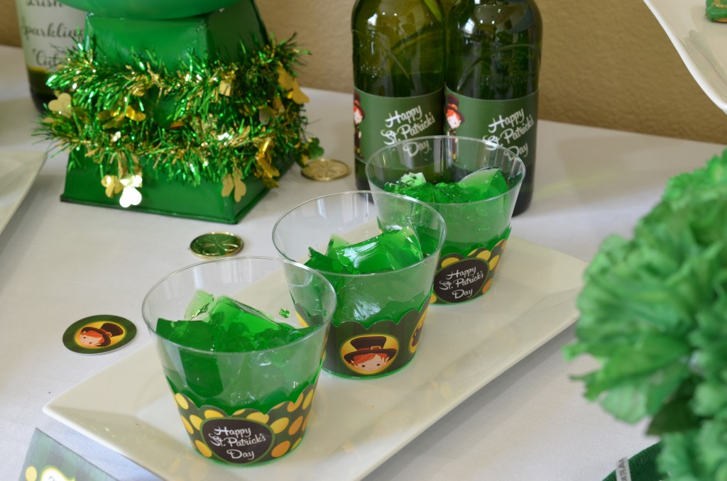 st patricks day printable jello shot