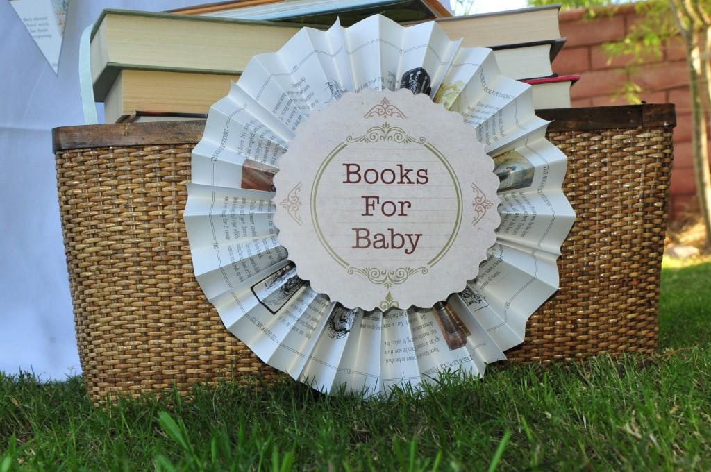 Build A Library Party Pinwheel