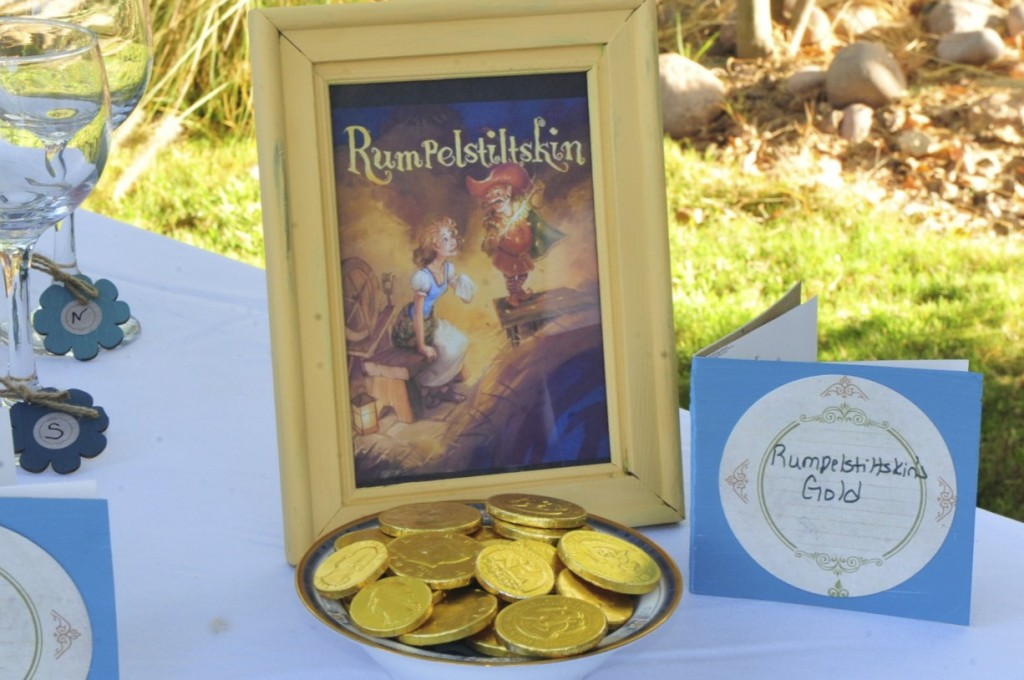 Build A Library Party Rumpelstilskin Gold