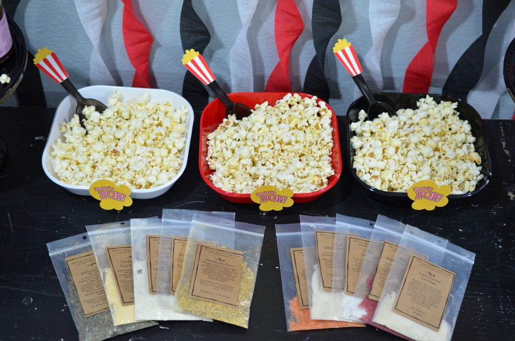 Ready To Pop Baby Shower Red - Seasoning for popcorn