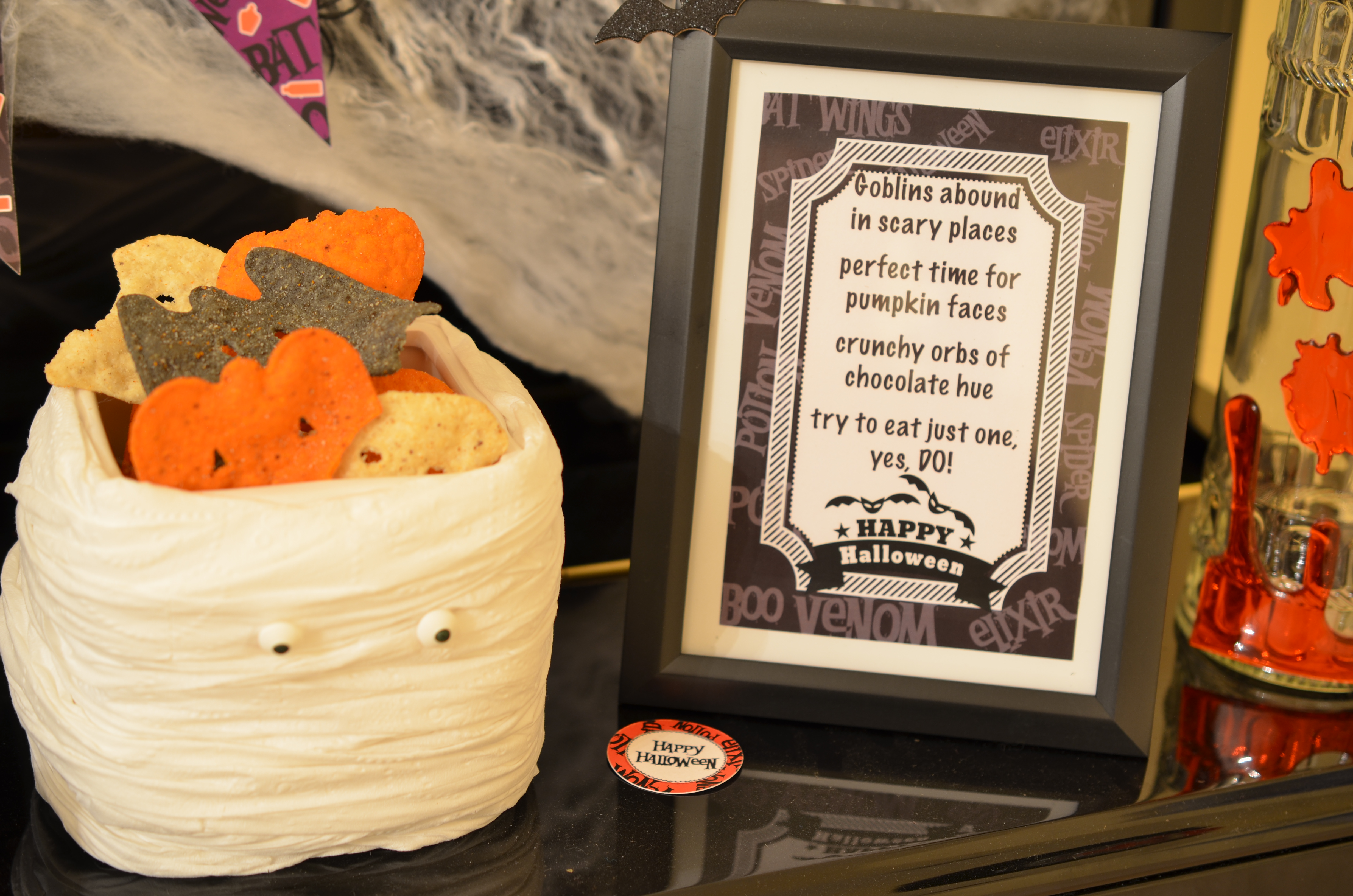 FREE Halloween Printable Party Package - Candles and Favors