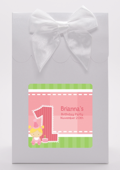 1st Birthday Girl - Birthday Party Goodie Bags