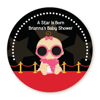 A Star Is Born Hollywood - Personalized Baby Shower Table Confetti Caucasian Boy