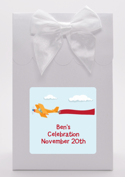Airplane in the Clouds - Birthday Party Goodie Bags