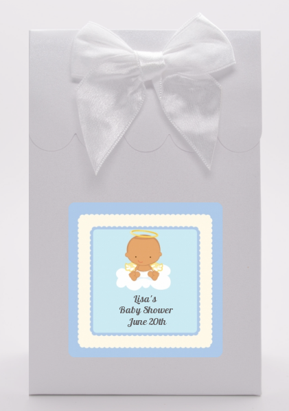 Angel in the Cloud Boy Hispanic - Baby Shower Goodie Bags