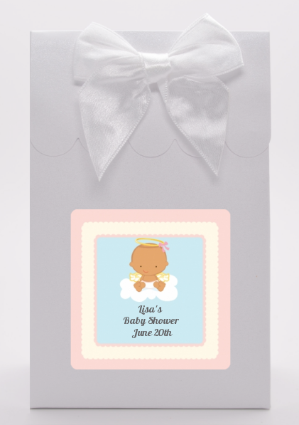 Angel in the Cloud Girl Hispanic - Baby Shower Goodie Bags