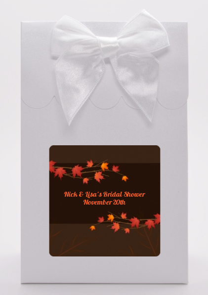 Autumn Leaves - Bridal Shower Goodie Bags
