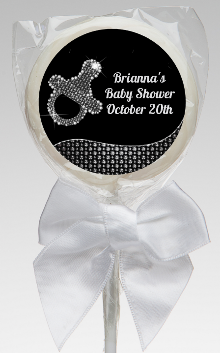 Baby Bling Pacifier Baby Shower Lollipop Favors Baby Bling
