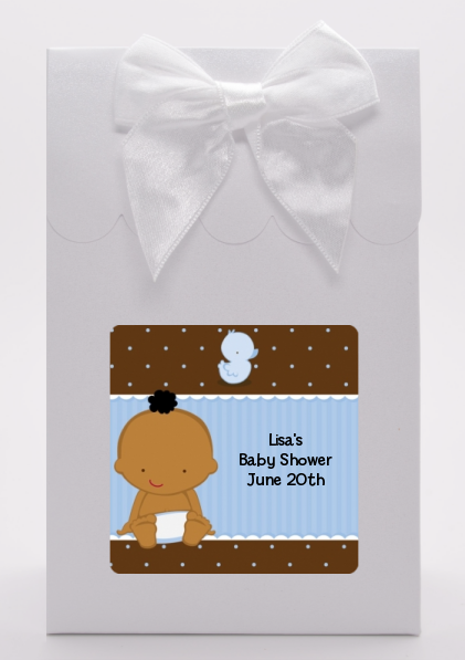 Baby Boy African American - Baby Shower Goodie Bags