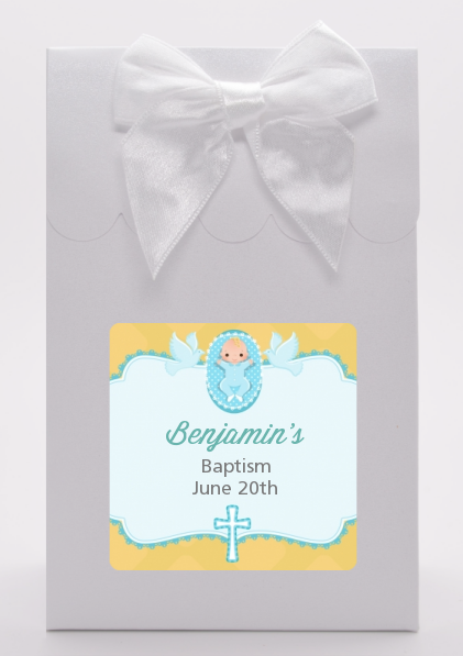 Baby Boy - Baptism / Christening Goodie Bags Option 1