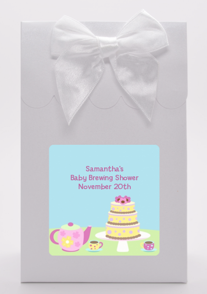 Baby Brewing Tea Party - Baby Shower Goodie Bags