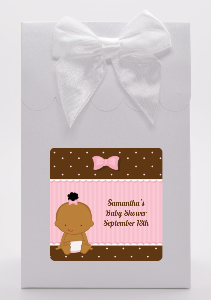 Baby Girl African American - Baby Shower Goodie Bags