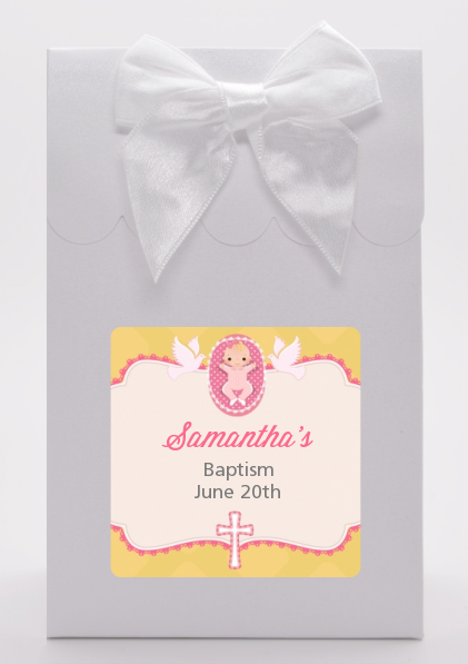 Baby Girl - Baptism / Christening Goodie Bags Option 1