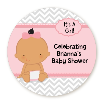 Baby Girl Hispanic - Personalized Baby Shower Table Confetti