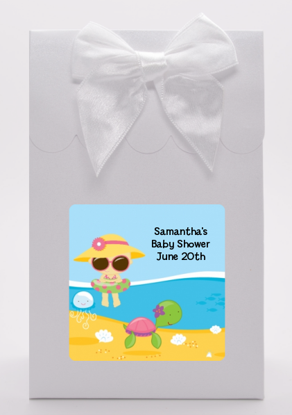 Beach Baby Asian Girl - Baby Shower Goodie Bags