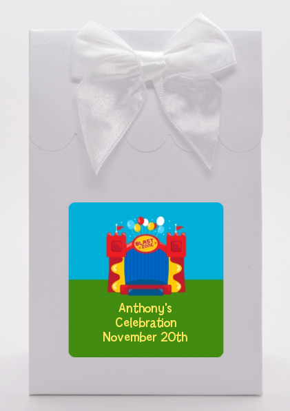 Bounce House - Birthday Party Goodie Bags