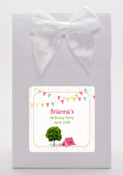 Camping Glam Style - Birthday Party Goodie Bags
