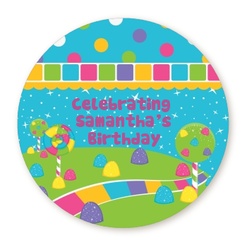 Candy Land - Personalized Birthday Party Table Confetti