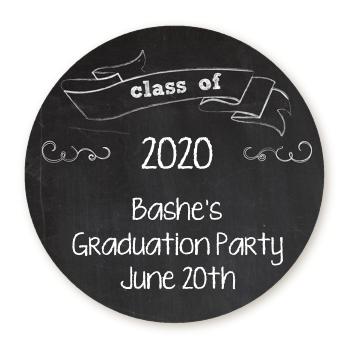 chalkboard celebration personalized sticker labels chalkboard