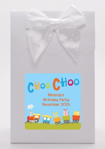 Choo Choo Train - Birthday Party Goodie Bags