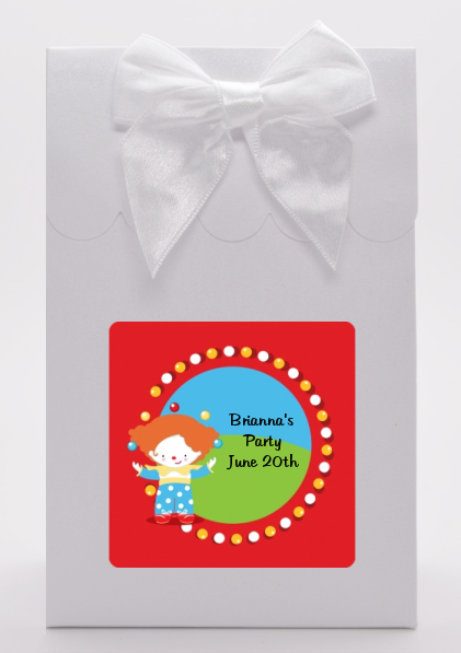Circus Clown - Birthday Party Goodie Bags