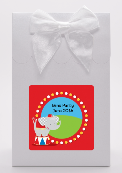 Circus Elephant - Birthday Party Goodie Bags