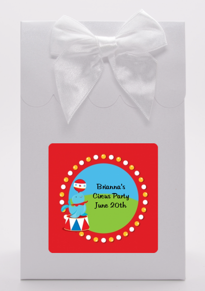 Circus Seal - Birthday Party Goodie Bags
