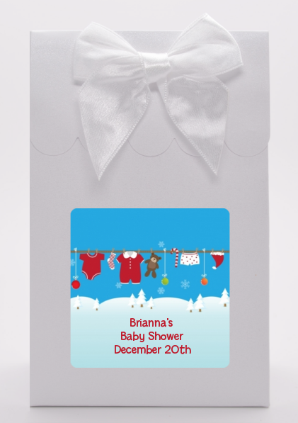 Clothesline Christmas - Baby Shower Goodie Bags