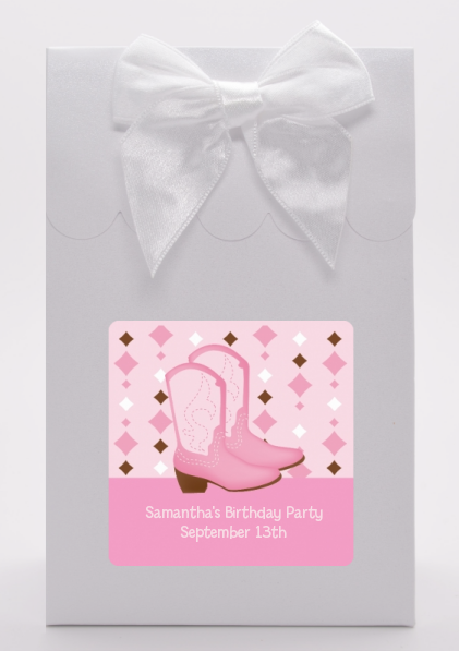 Cowgirl Western - Birthday Party Goodie Bags