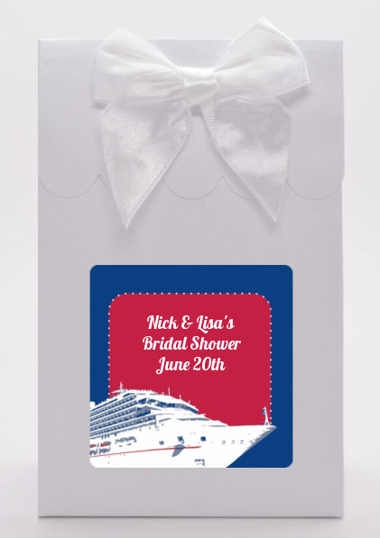 Cruise Ship - Bridal Shower Goodie Bags