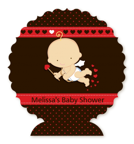 Cupid Baby Valentine S Day Baby Shower Table Centerpiece Baby