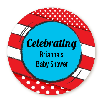 Dr. Seuss Inspired - Personalized Baby Shower Table Confetti