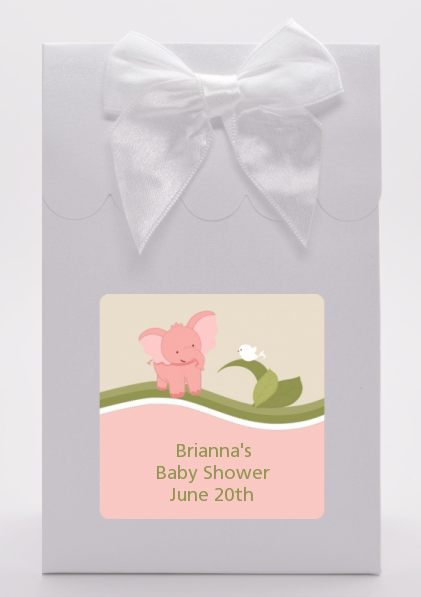Elephant Baby Pink - Baby Shower Goodie Bags