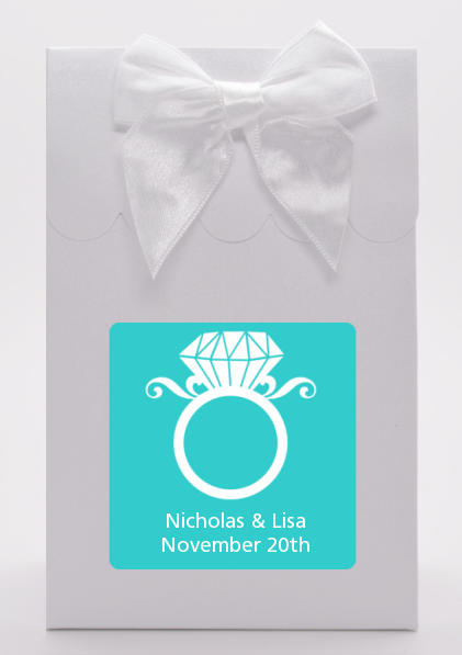 Engagement Ring - Bridal Shower Goodie Bags